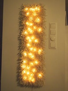 Lighted Canvas, Jpg, Hobbies And Crafts, Light Bulb, Lily, Candles, Lights, Handmade, Diy Ideas