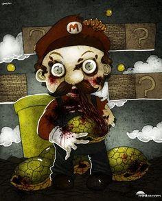 Mario zumbi