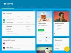 Barclays Bank Concept