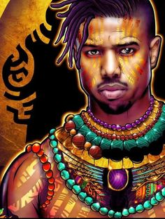 Love of Art. Black Love Art, Black Girl Art, Black Is Beautiful, Black Panther Art, Black Panther Marvel, Black Panther Chadwick Boseman, Arte Black, Afrique Art, Black Comics