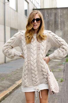 Chunky knit                                                                                                                                                                                 Mais