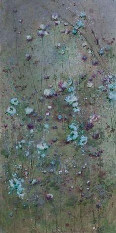 LAURENCE AMELIE SCHNEIDER UNTITLED ARCYLIC ON CANVAS 90cm x 150cm LAS 5764