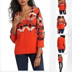 Bid Now ❤️ Anthropologie Sweater by FIETSVOOR2 Size Small Retail $140 | eBay