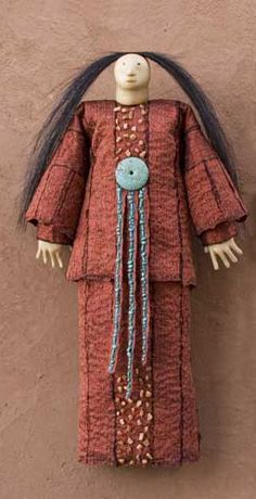 CHARLA KHANNA doll.  I have wanted one since I saw them in Taos New Mexico many years ago.  Her dolls are incredible.