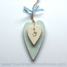 Lovely delicate colours and slightly elongated and distorted heart shapes.