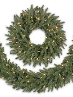 Silverado Slim Wreath & Garland | Balsam Hill