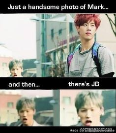 This is Got7's Leader >.