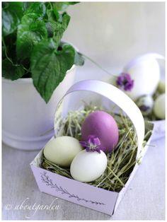 DIY: baskets for Easter