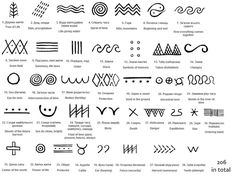 Trypillian Symbols/Script | details | Pinterest | Romania, Ukraine and ...