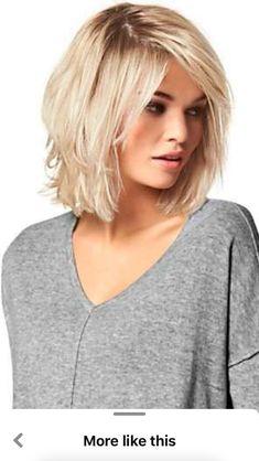Medium Hair Cuts, Short Hair Cuts, Medium Hair Styles, Curly Hair Styles, Short Hair With Layers, Layered Hair, Mom Hairstyles, Shoulder Length Hair, Great Hair
