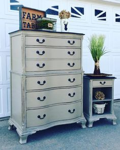 Painted Chest Of Drawers · JC Farmhouse Designs :l: CeCe Caldwellu0027s Chalk +  Clay Paint :l: Young
