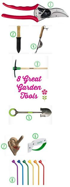Eight Must-Have Gardening Tools