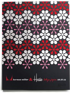 House Industries : Asterisk Sakura Black | Sumally