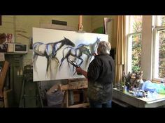Fantastic Free Art Lessons in Acrylic and Oil with Leisa O'Brien - YouTube