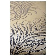 Graham & Brown Quill Wallpaper - Gold