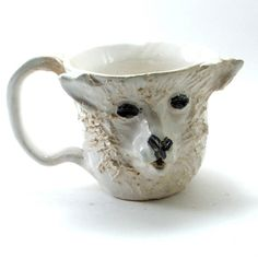 I need this creepy sheep mug for my birthday, Emily