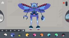 The Robot Factory by Tinybop by Tinybop Inc.