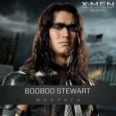 Booboo Stewart as Warpath in X-Men Days of Future Past - opens May 23, 2014