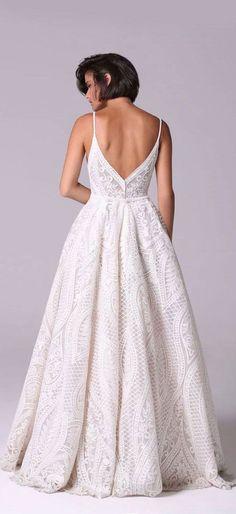 Wedding Dress : Rory by Michal Medina #weddingdress