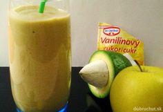 Jablkové smoothie s avokádom, fotogaléria 1 / Russian Recipes, Honeydew, Pudding, Apple, Smoothie, Fruit, Desserts, Polish, Food