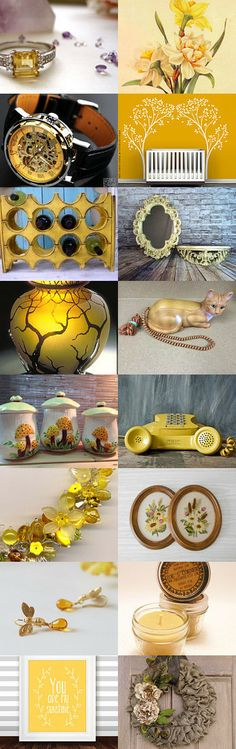 Call Me Mellow Yellow by Bridget on Etsy--Pinned with TreasuryPin.com