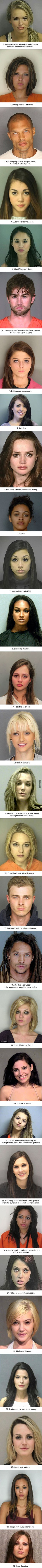 29 Ridiculously Photogenic Mugshots Reminds You Never Judge A Book By Its Cover