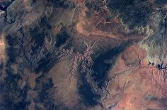 Grand Canyon seen from space