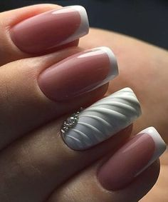 Really Cute Nail Designs You Will Love Cutest Wedding Nail Art Designs You Will Love to Bridal Nails, Wedding Nails, Jamberry Wedding, Bling Wedding, Wedding Art, Wedding Bride, Fancy Nails, Trendy Nails, Hair And Nails