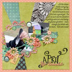 April-Life Documented - Scrapbook.com