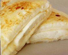 Pão de queijo de tapioca na frigideira
