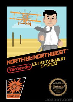 North by Northwest NES-Style