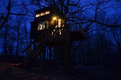 Southern Illinois Cabin Tree House
