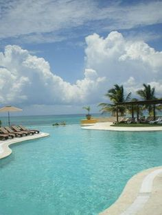 beachside pool, Fairmont Mayakoba