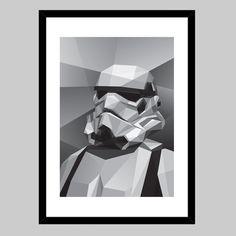 Fancy - Storm Trooper Print by Filip Peraić