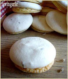 biscuita a l'anis 3 Biscuits Croustillants, Spritz Cookies, Kinds Of Cookies, Alsace, Cookies Et Biscuits, Macarons, Christmas Cookies, Baked Goods, Caramel