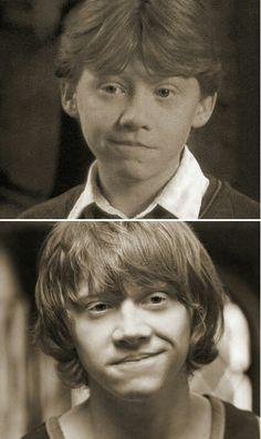 same half-smile