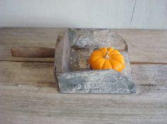 Antique grain scoop
