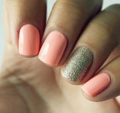 I want to find this color! Easter nails
