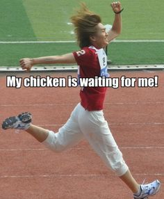 Onew and his love of chicken