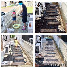 Backyard Garden Design, Diy Garden Decor, Garden Landscaping, Porch And Terrace, Patio, Sleepers In Garden, Pool House Plans, Diy Exterior, Garden Living