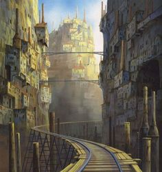 Arte del estudio Ghibli -Parte 1- - Taringa!