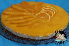 Gâteau sans cuisson mangue orange avec Magimix http://www.aprendresansfaim.com/2016/11/gateau-sans-cuisson-mangue-orange-avec.html