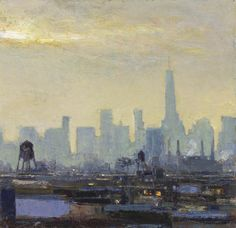 """""""From the Platform 40th Street Station, Queens"""" by Andrew Gifford (b.1970)"""