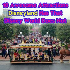 10 fun things to do at Disneyland that you cannot do at Disney World