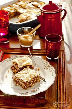 A spiced nut and date baklava. (Photo & Styling by Meeta K. Wolff)