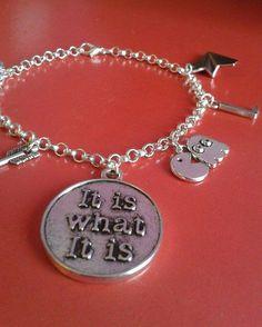 Louis Tomlinson Tattoo Inspired Bracelet di FollowTheGrace su Etsy