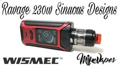 WISMEC SINUOUS RAVAGE230 200W with GNOME Evo TC Kit - Giveaway - Mike Vapes