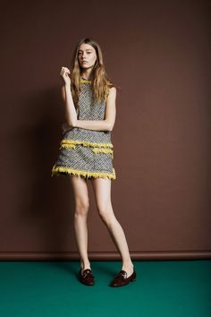 Ondria Hardin for theLouis VuittonResort 2014 Collection