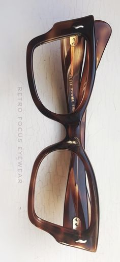 4369a29d882 Outrageous head turning angular squared cat eye eyeglass frames made in  France