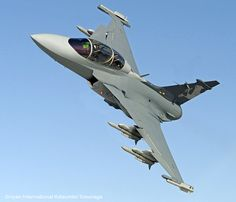 Saab Gripen F concept with AESA and DSI